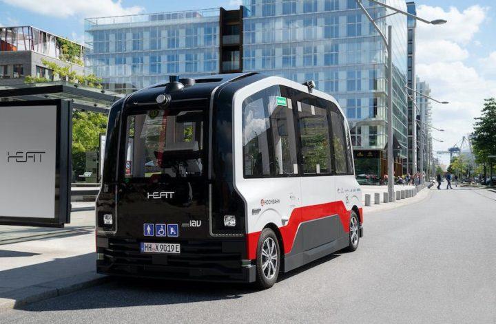 HEAT Fahrzeug Hamburg autonomes Fahren